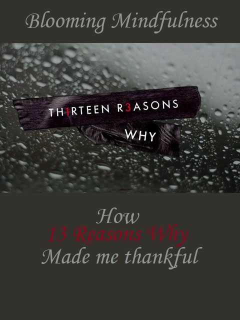 Today I talk about the TV show 13 reasons why and how watching it helped me realise how far I have come