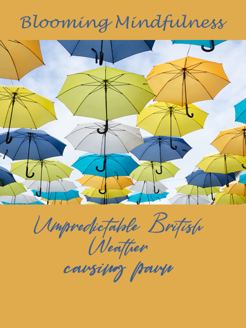 unpredictable british weather causing pain